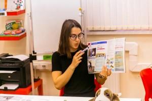 наш молодой и перспективный преподаватель - Евгения - фото